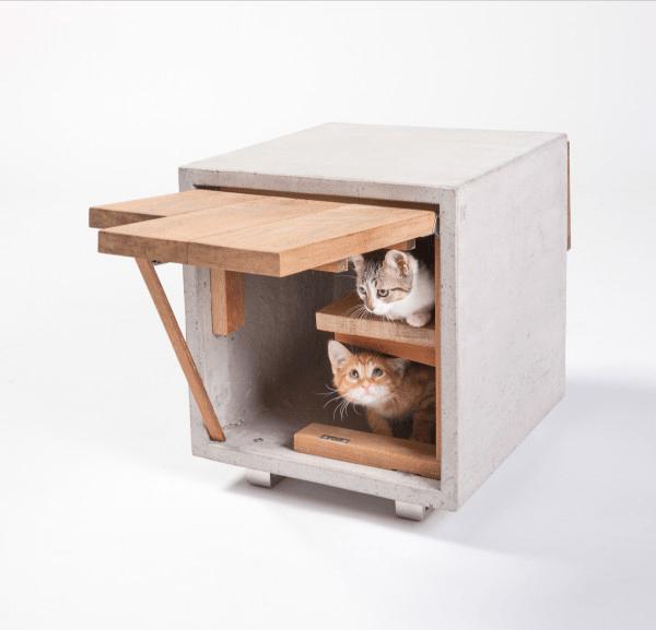吾輩は猫になりたい!おしゃれな猫たちの家いろいろ - Cat Shelters