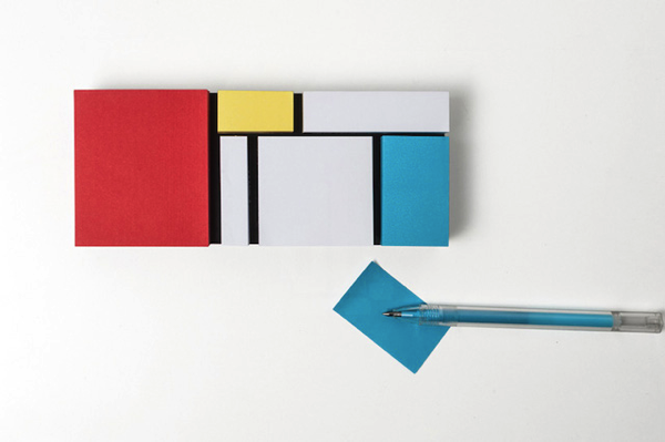 Mondrian Sticky Notes