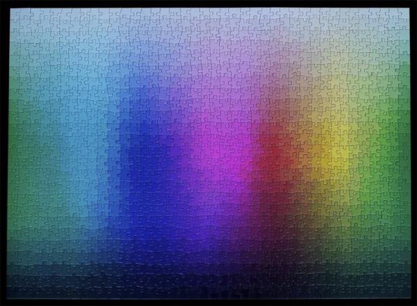 シンプルで美しい。1000の色で作るグラデーションのパズル - CMYK Color Puzzle