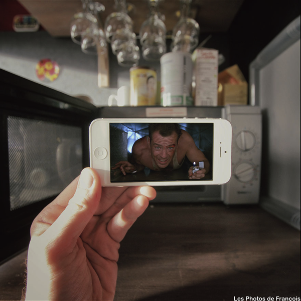 Insert Movie Scenes Into Real Life Situations