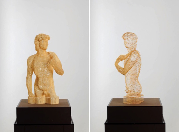 Disappearing Paper Sculptures
