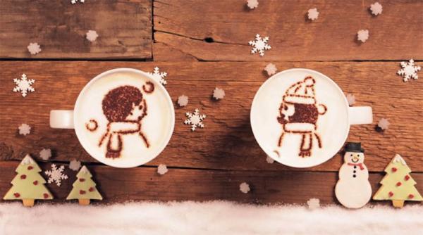 体も心も温まる。ラテアートをつかって描かれる素敵なアニメーション - latte motion