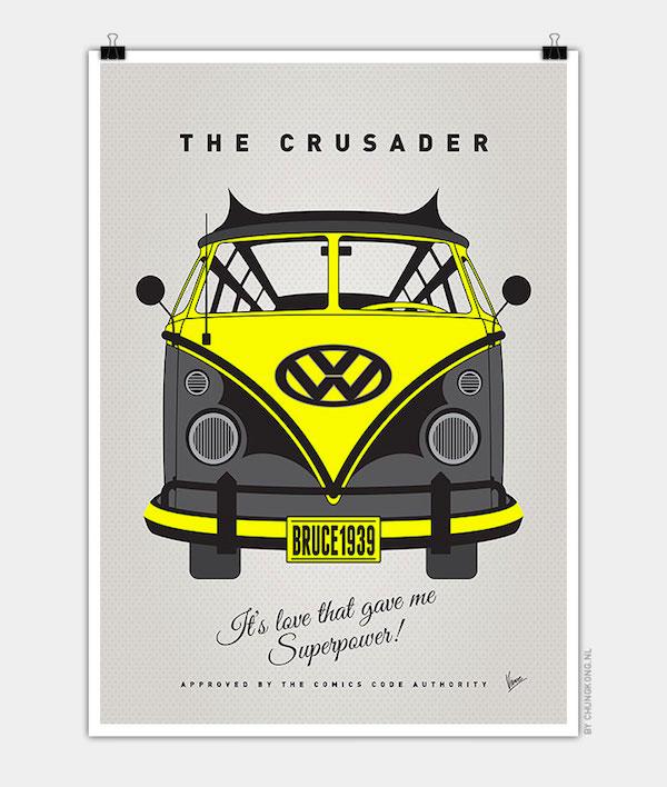 Superhero's Volkswagen