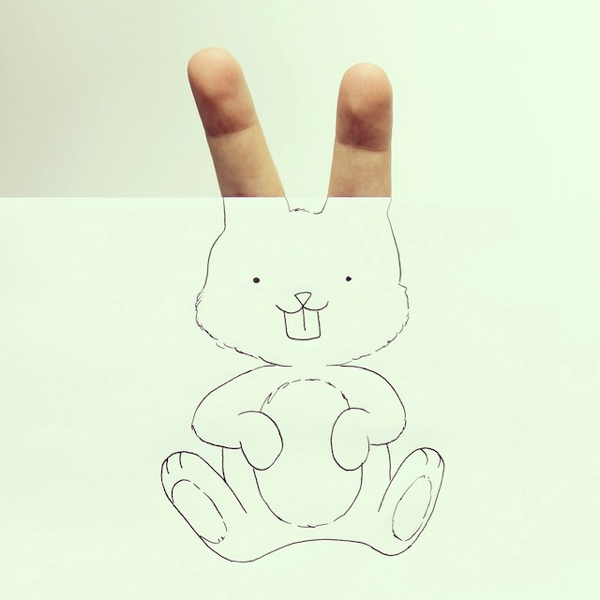 Objects Turned Into Illustrations