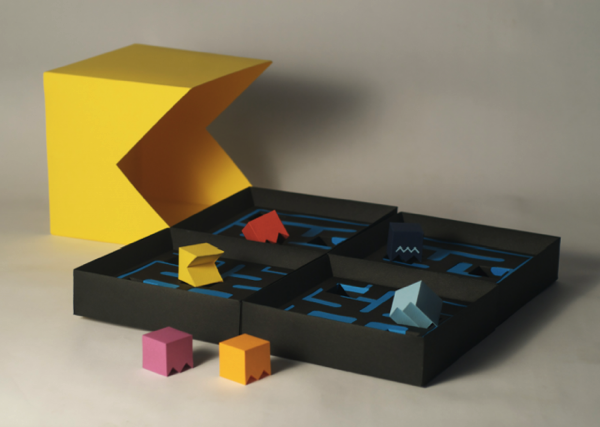 pacman bord game