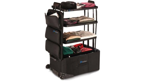 これは便利!引き出すだけで棚に早変わりのスーツケース