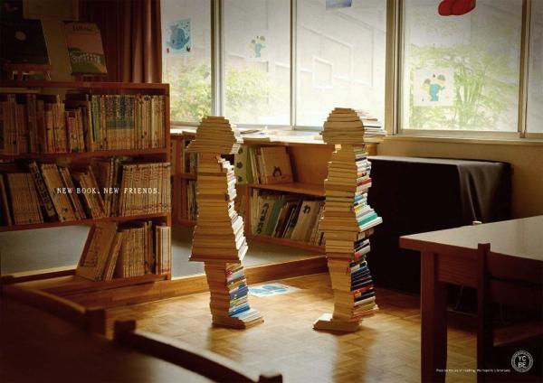 グッとくる!「本は子どもを育てる」というメッセージに心打たれる広告