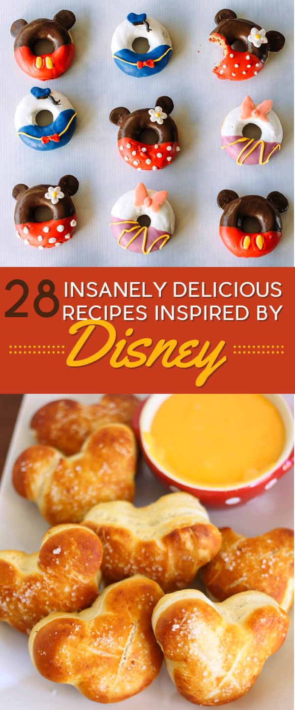 Disney-Inspired Recipes