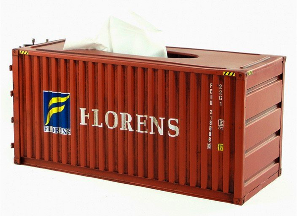Container Tissue Box Cover
