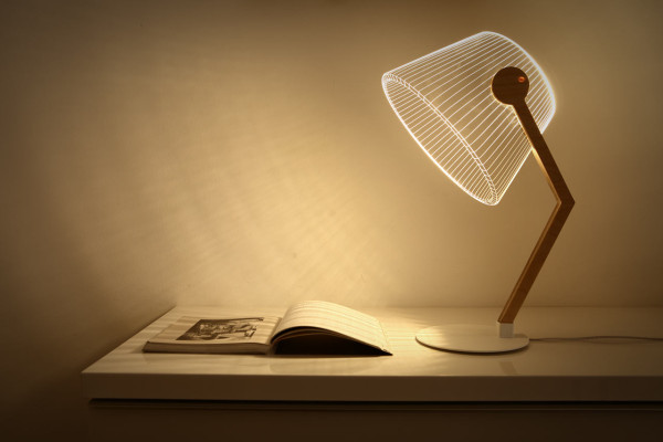3D OPTICAL ILLUSION LAMPS