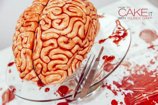 インパクト最強!ハロウィンパーティーの脳みそケーキレシピ