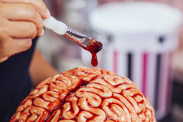 Brain Cake For Halloween
