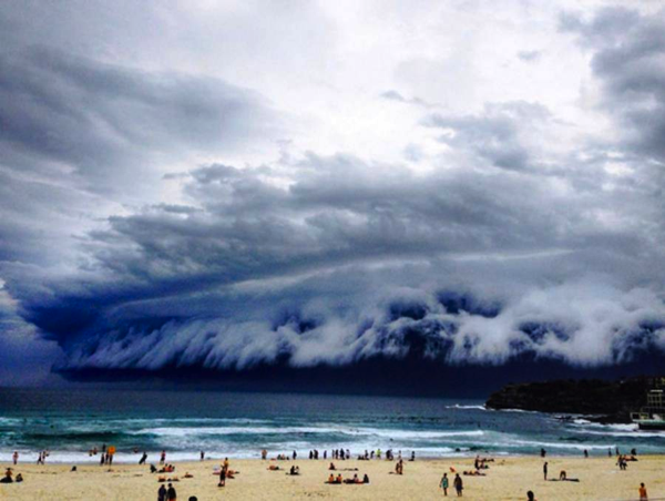 Sydney Cloud Tsunami