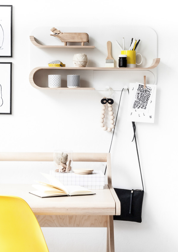 Customizable Minimal Shelving