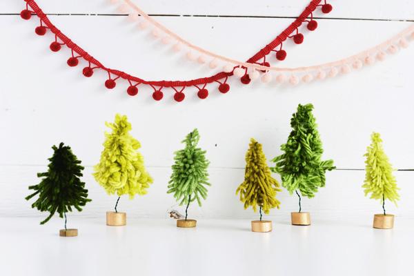 今すぐ作れる!かんたんかわいいミニチュアクリスマスツリー