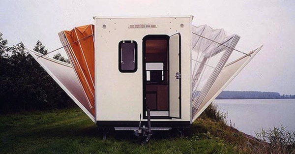 Functional Extendable Campervan