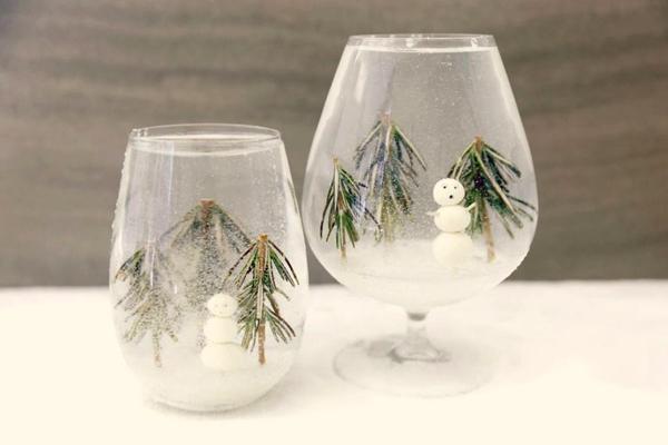 グラスの中はスノードーム!この冬試したいかわいいカクテル