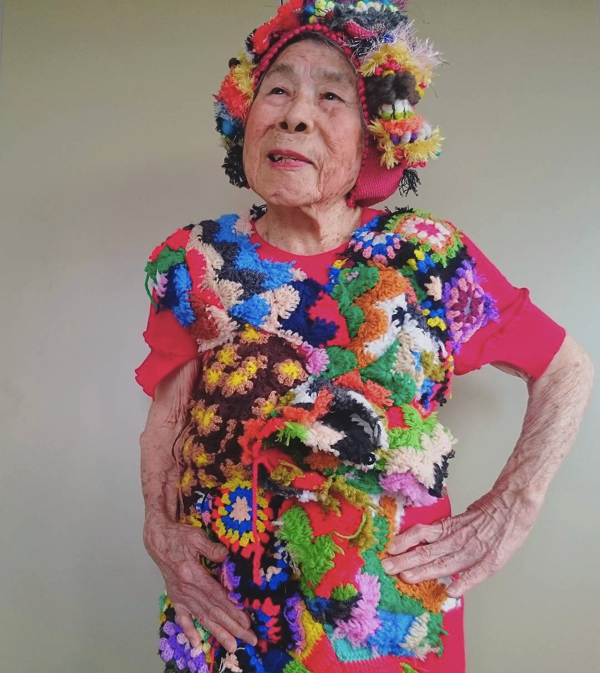 93-year-old fashionmodel
