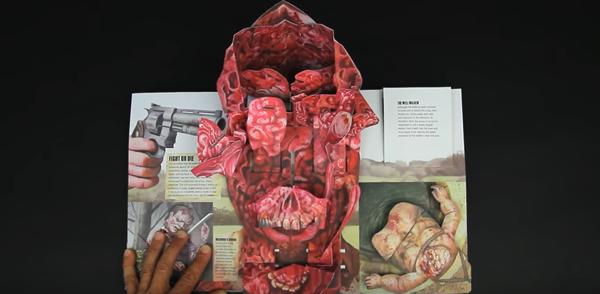 The Walking Dead Pop-Up Book