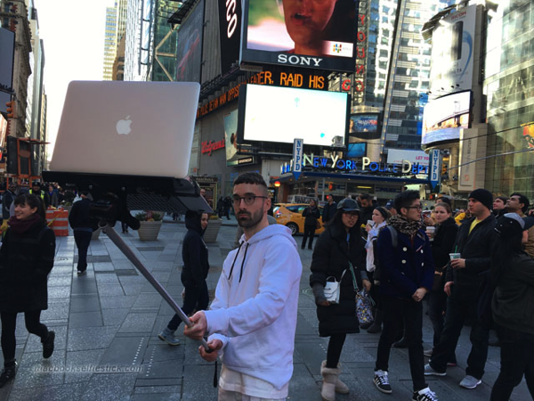 Macbook Selfie Stick
