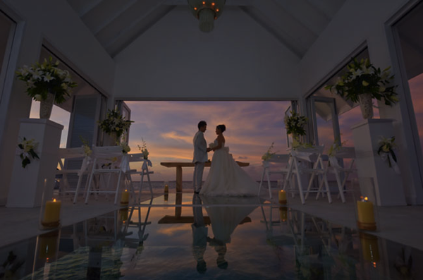 Wedding hall in Ocean