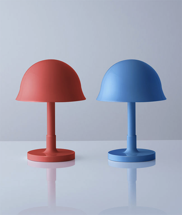 planter and lamp helmets