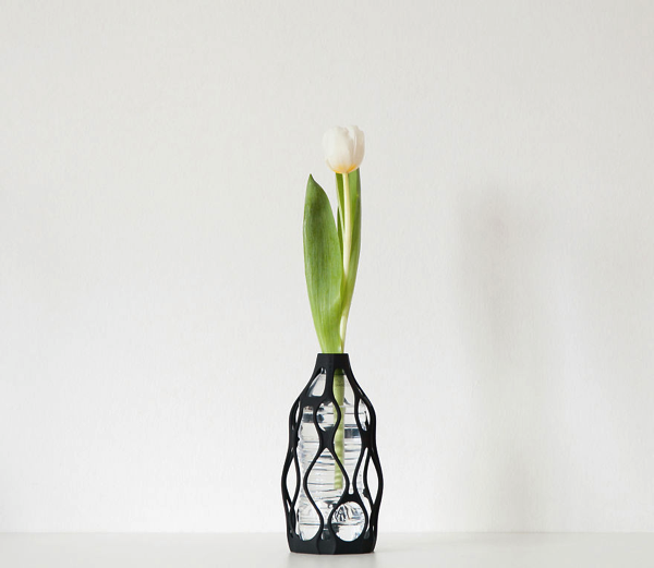 Plastic Bottle 3D-Printed Vases