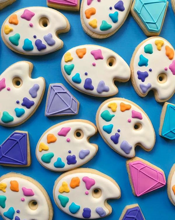 カラフルでかわいい!デザイナーが本気でクッキーを作るとこうなる