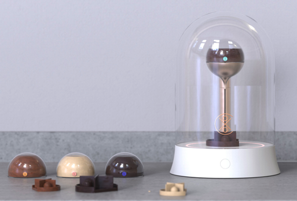 好きな形にチョコを成形できる!チョコレートの3DプリンターXOCO