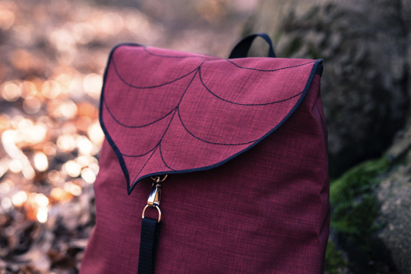 Leaf-Inspired Bags