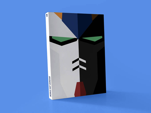 Minimalist manga covers