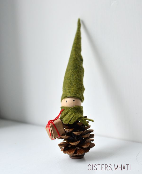 Christmas Pine Cone ornament