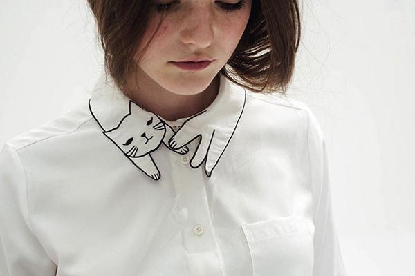 猫好きにはタマらない!猫の襟が可愛いレトロファッション - Miss Patina