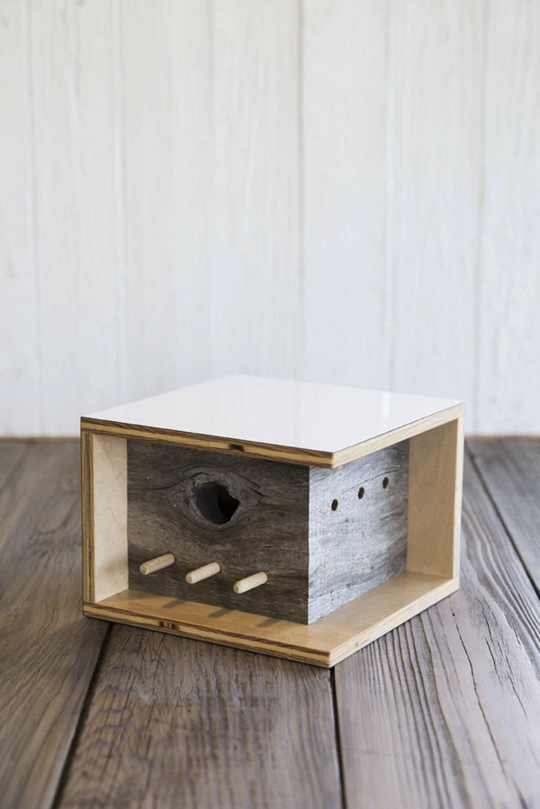 Architectural Bird Houses