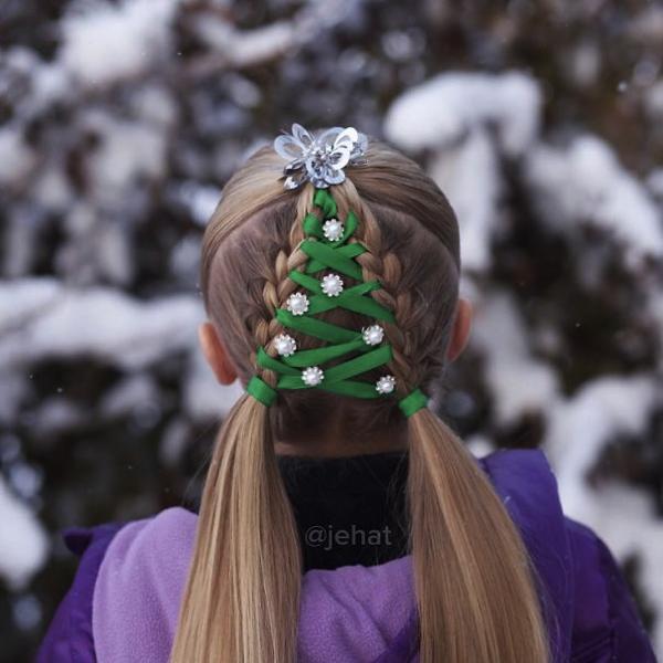 これはお見事!クリスマスにやってみたい神ってる髪型