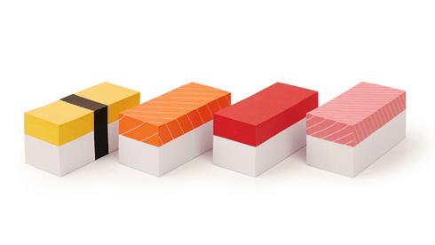 Sushi Memo Block