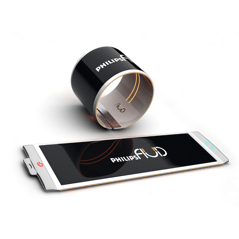 Fluid Wearable SmartPhone