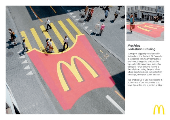 McDonald's: MacFries Pedestrian Crossing