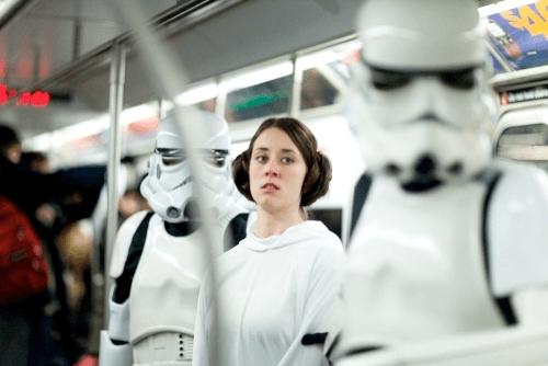 Star Wars Subway Car