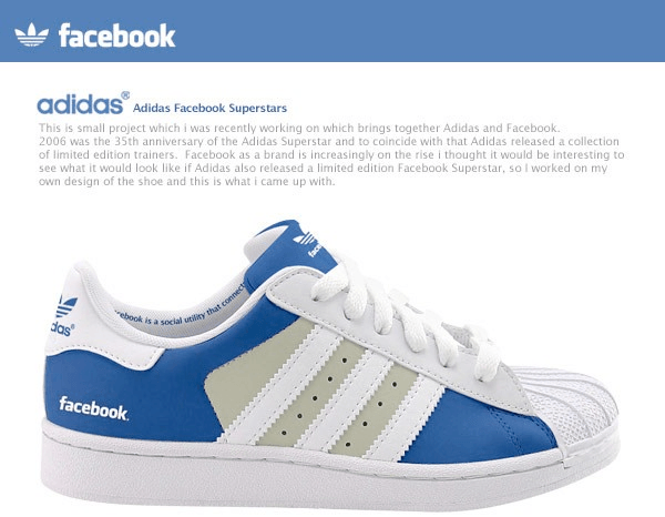 Adidas Facebook And Twitter Shoes