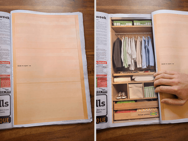 Double Page Magazine Ads