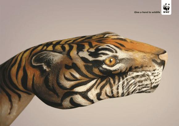 Incredible Hand Paintings