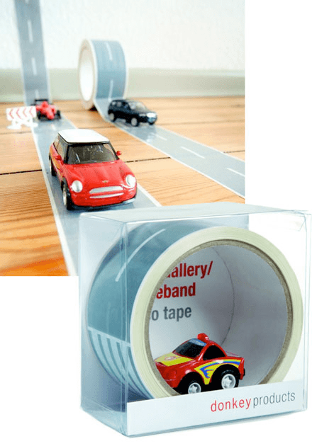AUTOBAHN TAPE KIT & RACE CAR