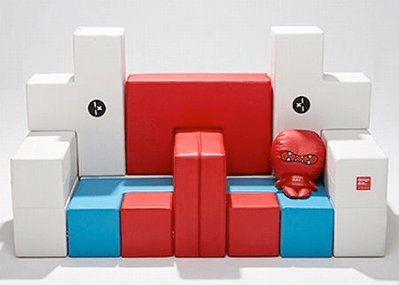 IQ puzzle sofa
