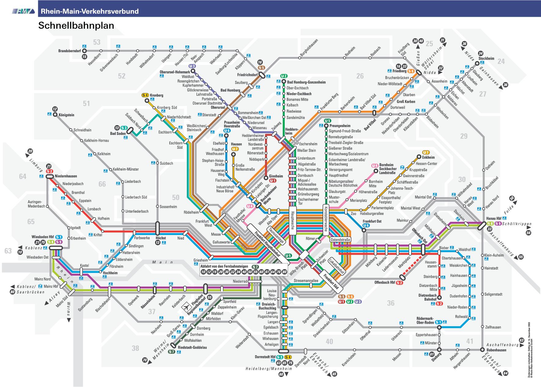 metro map
