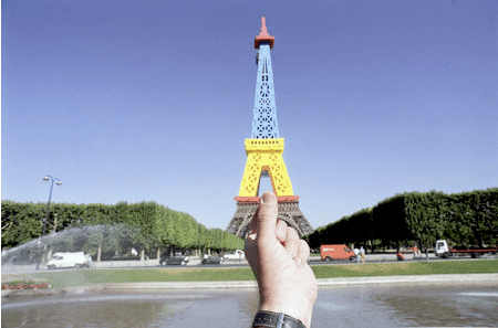 Replacing World Landmarks