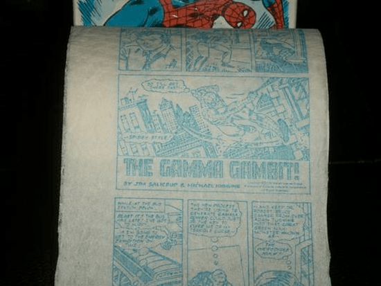 whackiest toilet paper design