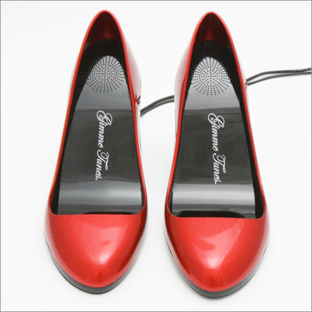 Shiny Red High Heel USB Speakers
