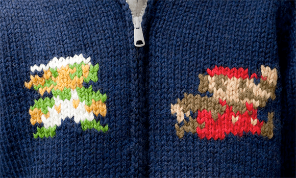 Knitted Mario Sweaters