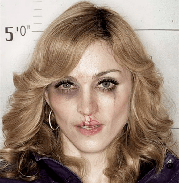 Celebrities Beaten by Photoshop